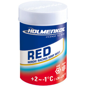 Holmenkol Grip Grip Wax 45g Red